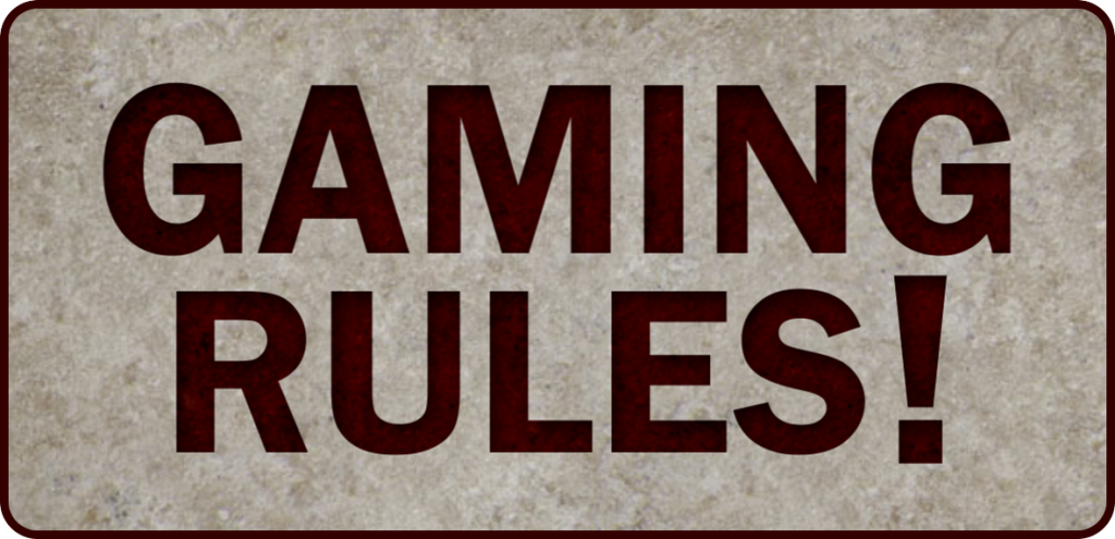Gaming rules logo