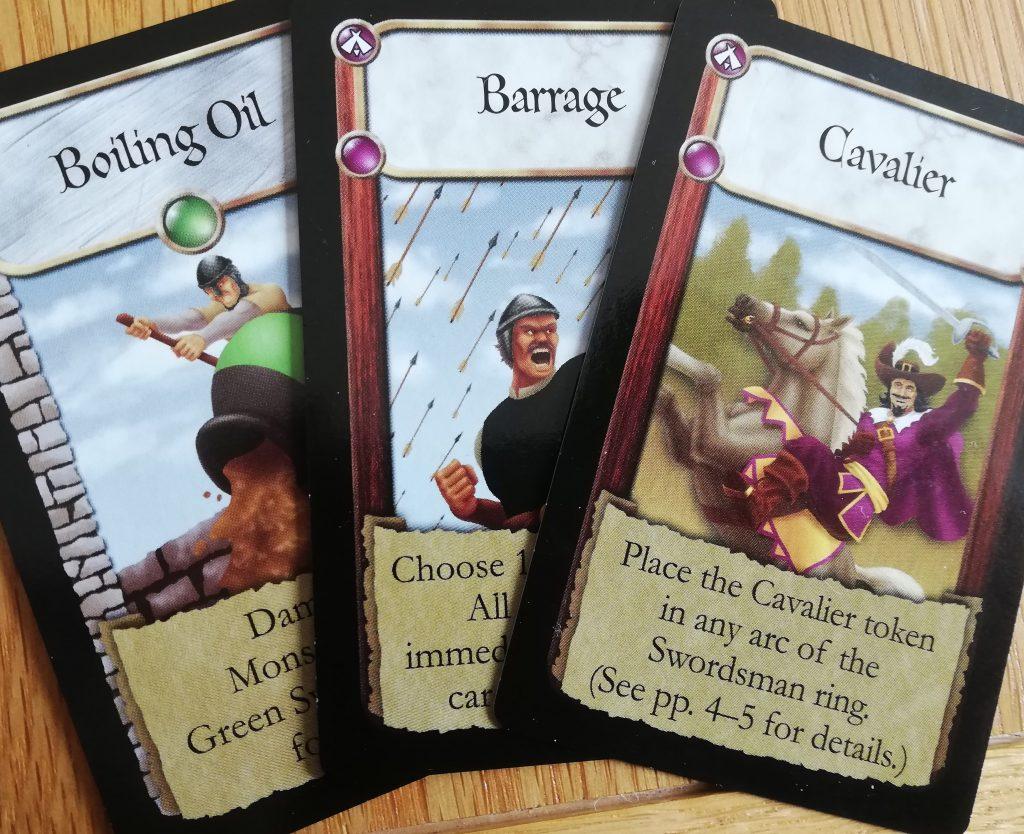 The Dark Titan cards