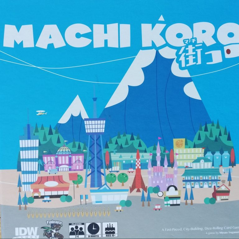 Machi Koro – A Board Game Journey Step 1