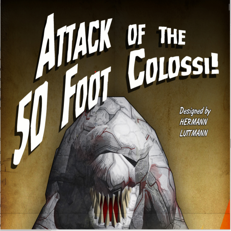 Attack of the 50 Foot Colossi – Session Report (Turns 5 – 8)