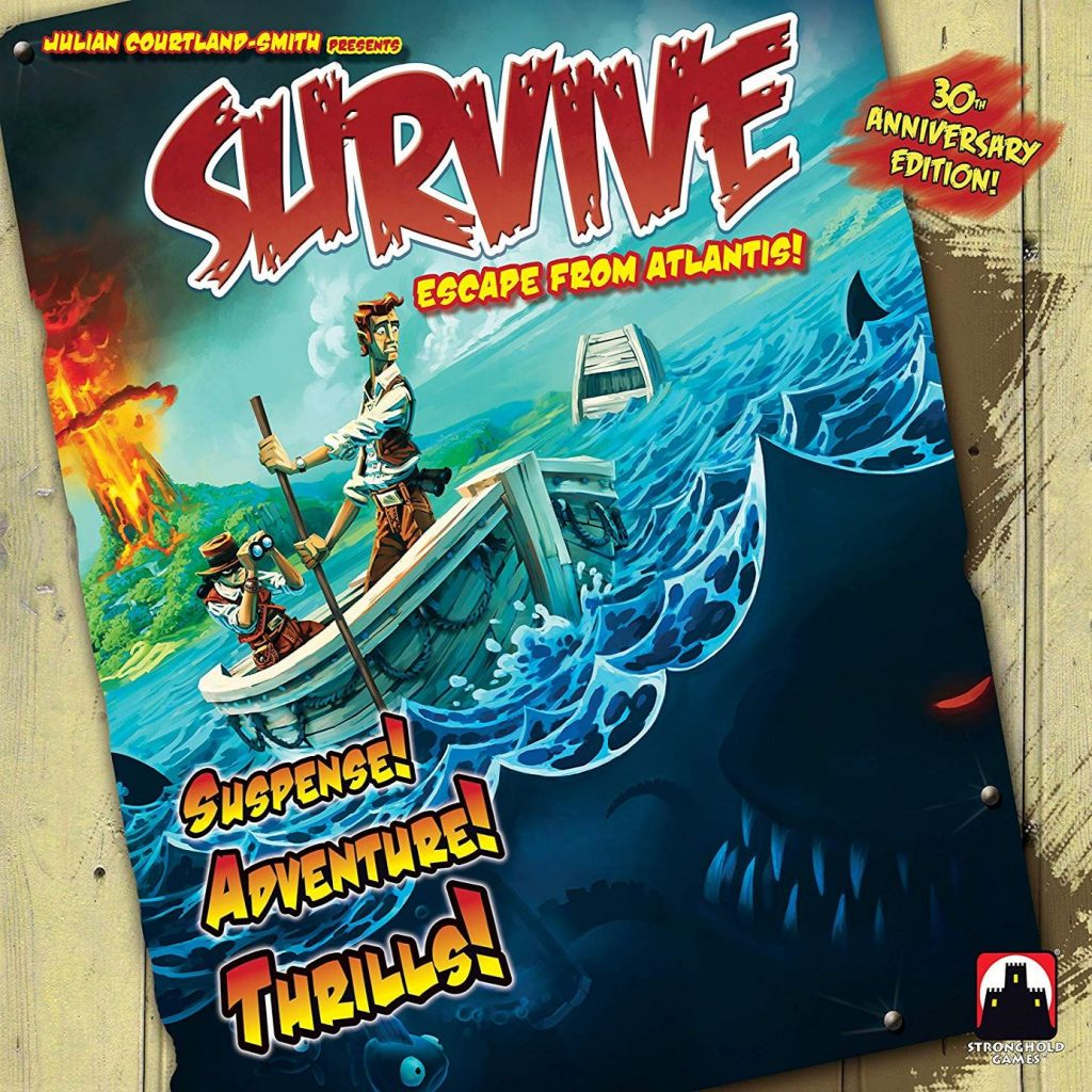 Survive Escape from Atlantis cover