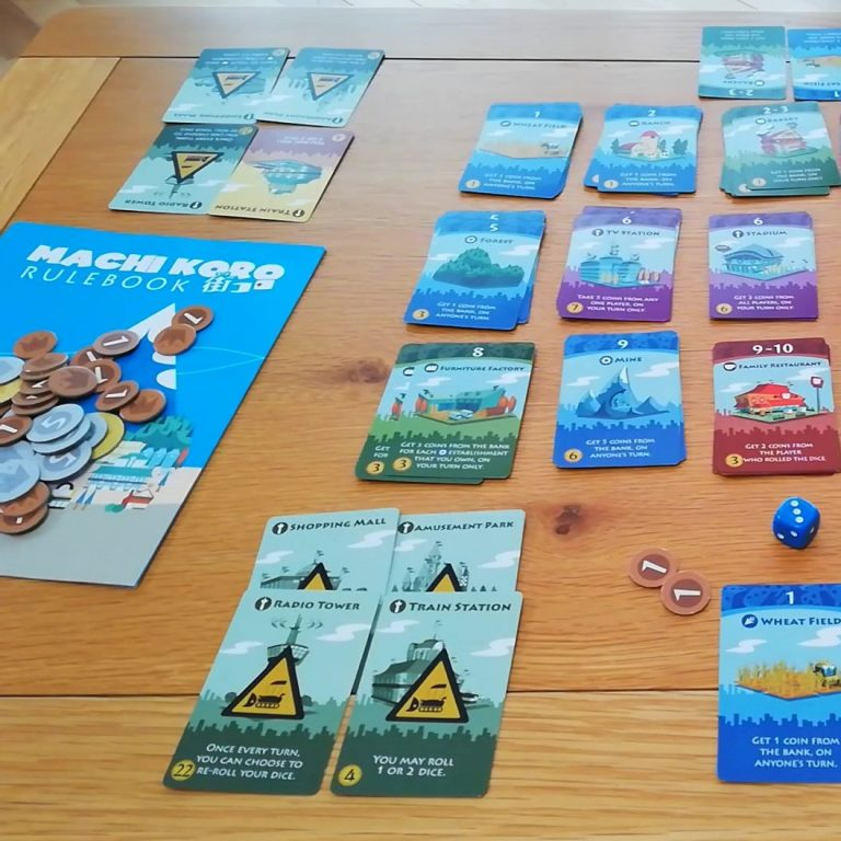 Read more about the article Machi Koro: A Quick Look Video