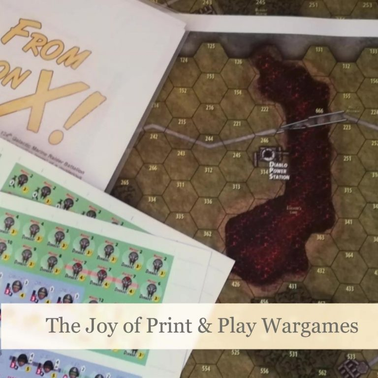 The Joy of Print & Play