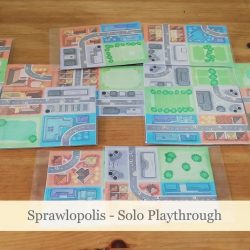 Sprawlopolis – Solo Playthrough Video