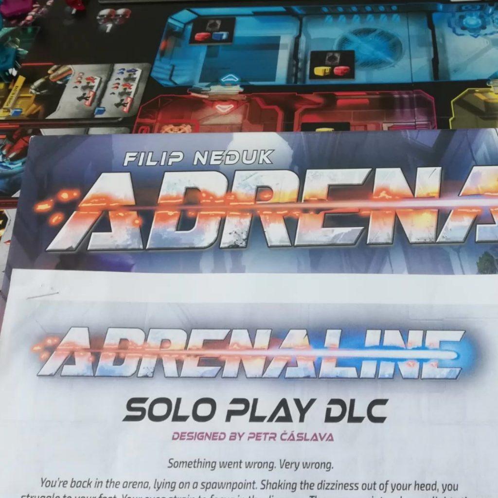 Adrenaline: Solo Playthrough Video
