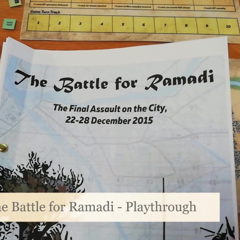 The Battle for Ramadi: Playthrough Video