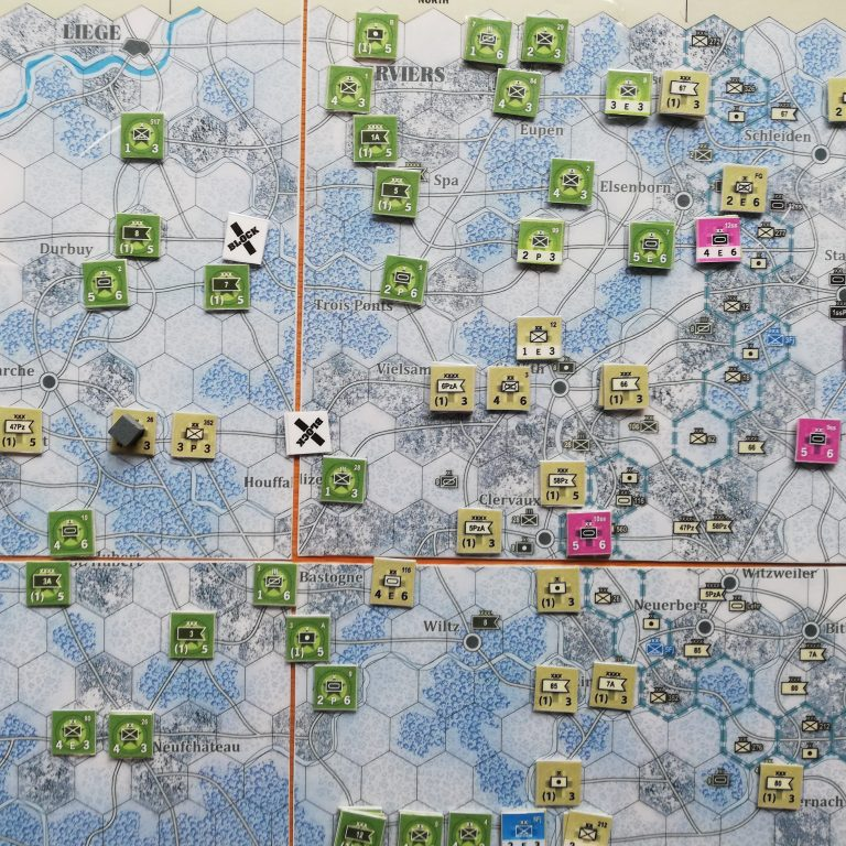 Winter Thunder (Battle of the Bulge) – Overview/How to Play Video
