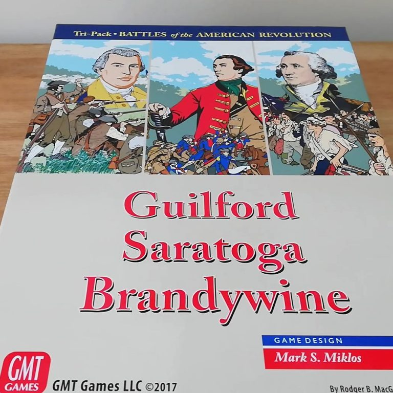 Guilford, Saratoga, Brandywine Tri Pack (GMT Games): Component Overview Video