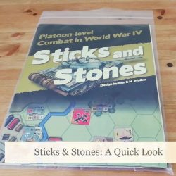 Sticks and Stones: Unboxing
