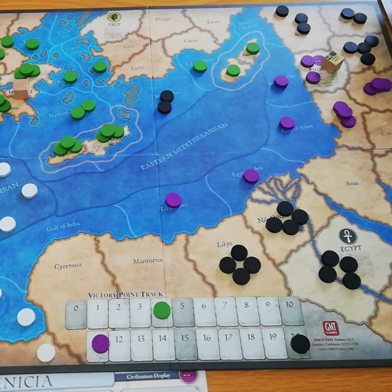 Ancient Civilizations of the Inner Sea: Playthrough Video