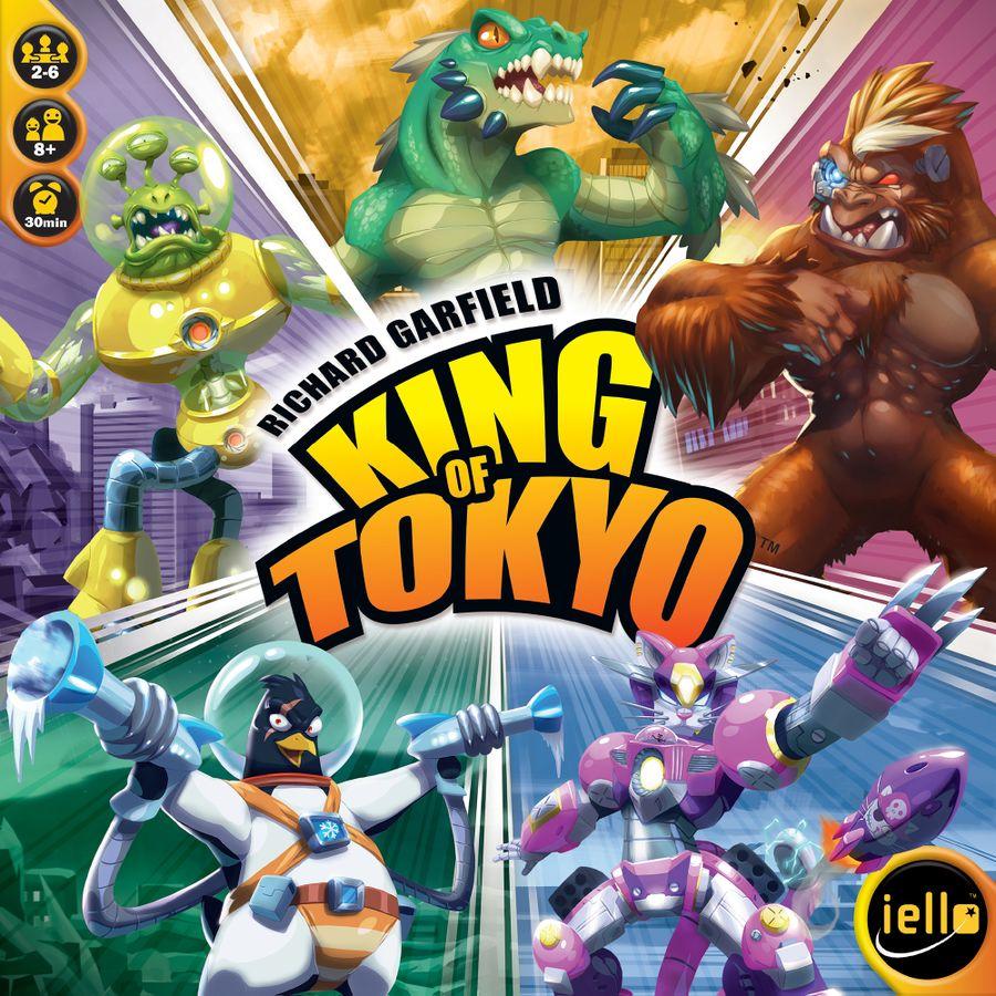 King Tokyo Richard Garfield