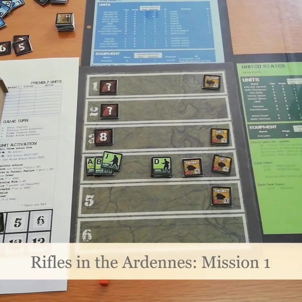 Rifles in the Ardennes: Campaign Video Playthrough